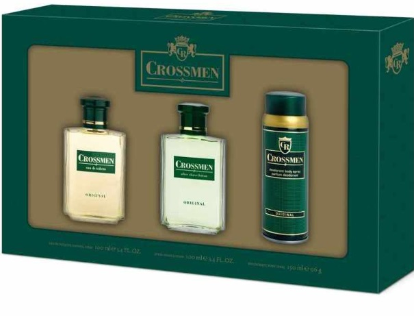 CROSSMEN EDT 100 ML + DESODORANTE 150ML + AFTER SHAVE 100ML SET REGALO