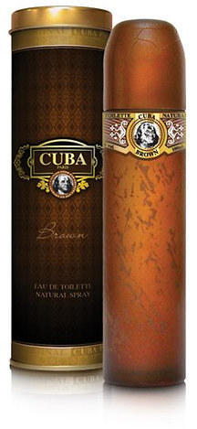 CUBA BROWN EDT 100 ML