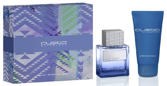 CUSTO BARCELONA - SET BLUE WIND FOR MAN