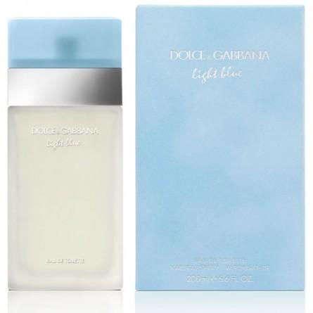 Dolce Gabbana Light Blue Eau De Toilette 200 Ml Vapo