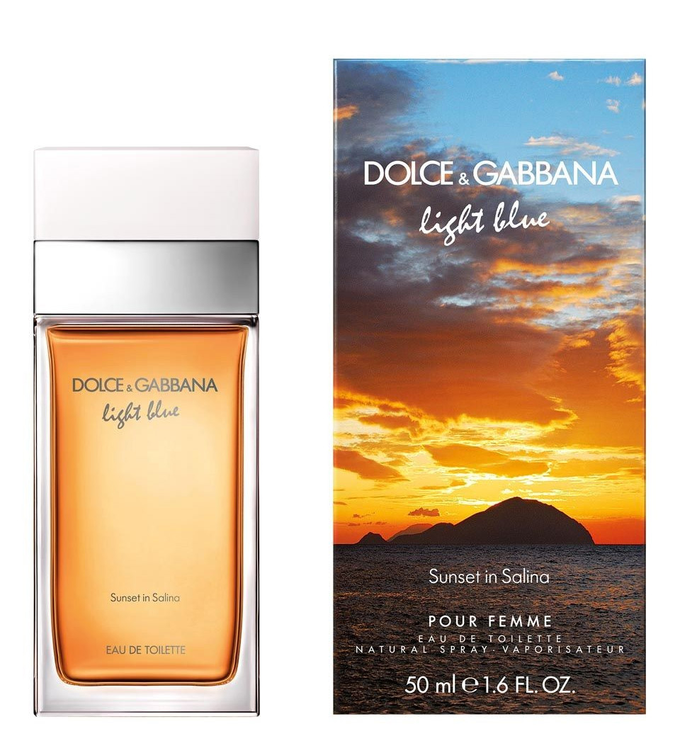 DOLCE & GABBANA LIGHT BLUE FEMININE SUNSET IN SALINA EDT 100 ML