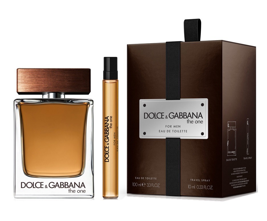 DOLCE & GABBANA THE ONE MEN EDT 100ML + EDT 10 ML SET REGALO