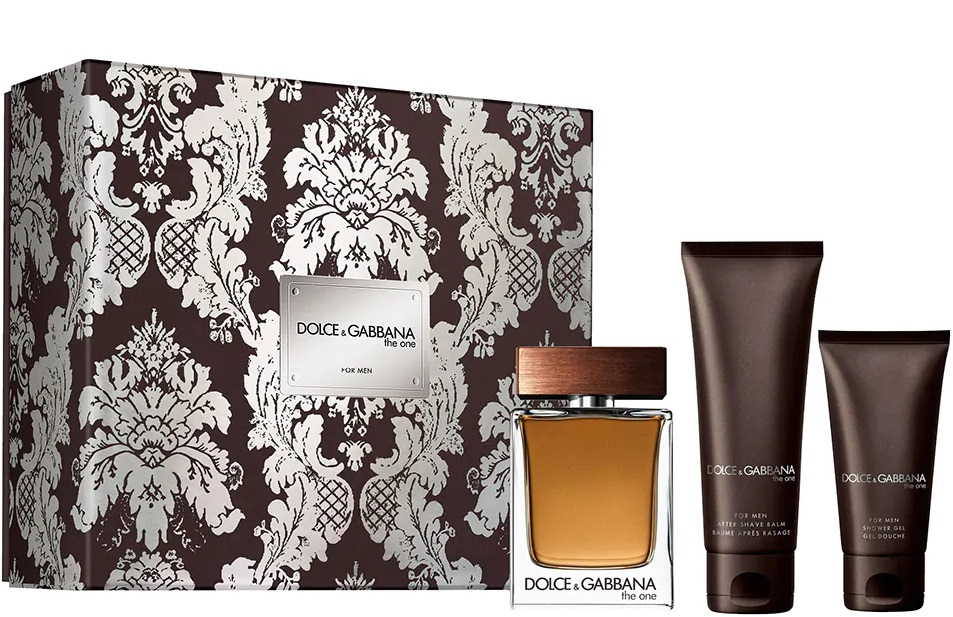 DOLCE & GABBANA THE ONE MEN EDT 100ML + A/S 75 ML + GEL 50 ML SET REGALO