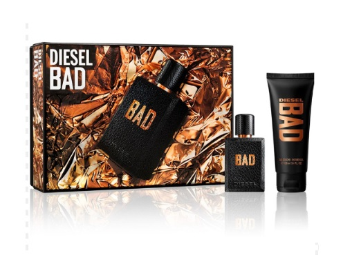 DIESEL BAD EDT 50 ML + S/GEL 100 ML SET REGALO