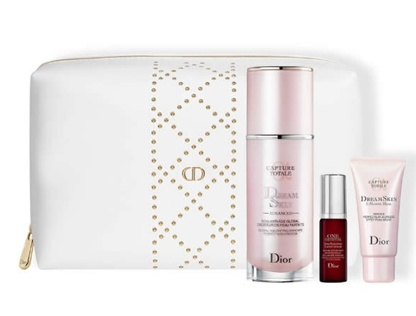 CHRISTIAN DIOR CAPTURE TOTALE DREAMSKIN ADVANCED CREME 50ML+2 PIEZAS+NECESER SET REGALO