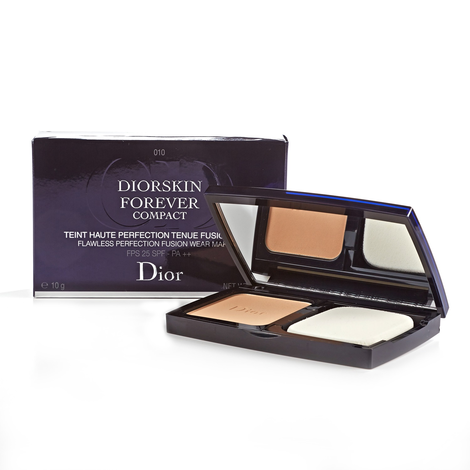 9bd099021 CHRISTIAN DIOR DIORSKIN FOREVER COMPACT MAQUILLAJE COMPACTO 010 IVOIRE SPF  25