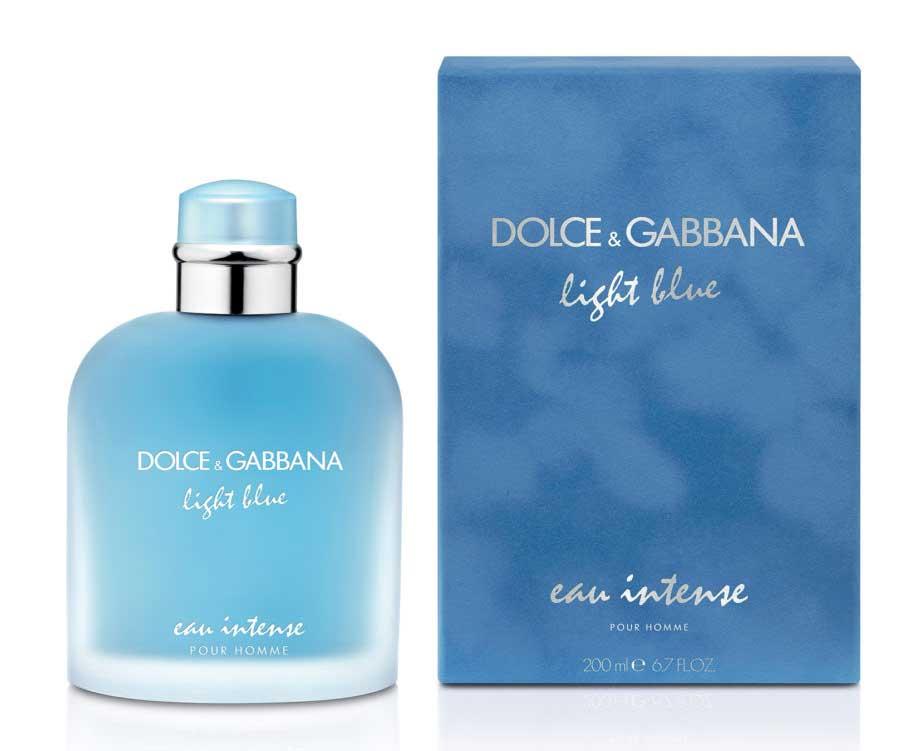 df5811a147a703 Dolce Gabbana Light Blue pour homme eau intense eau de parfum 200 ml ...