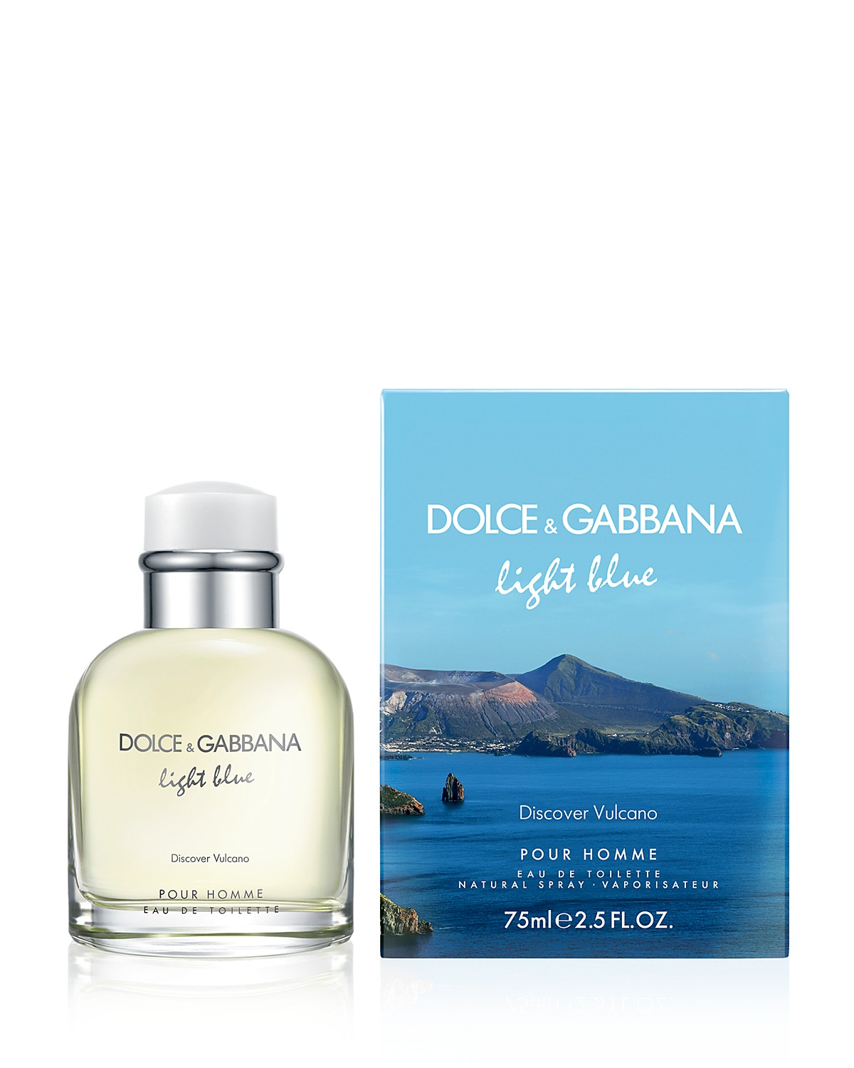 DOLCE & GABBANA LIGHT BLUE DISCOVER VULCANO EDT 125 ML VP.