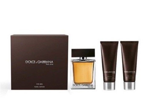 DOLCE & GABBANA THE ONE MEN EDT 100 ML + A/S BALM 50 ML + GEL 50 ML SET REGALO