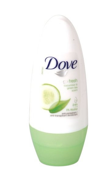 DOVE GO FRESH PEPINO & TE VERDE DESODORANTE ROLL ON 50 ML