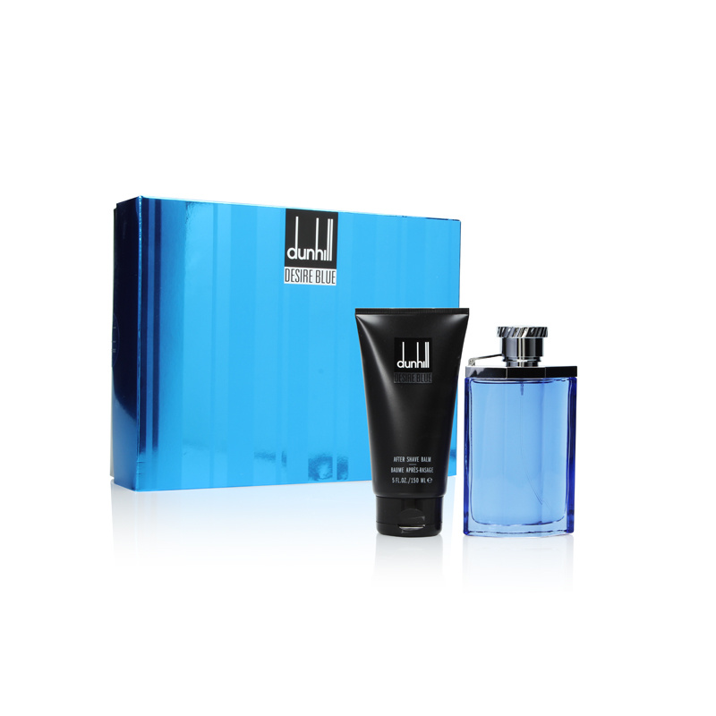DUNHILL DESIRE BLUE EDT 100 ML + A/ S BALM 150 ML SET REGALO