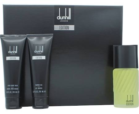 DUNHILL EDITION EDT 100ML + GEL 90ML + A/S BALM 90ML SET