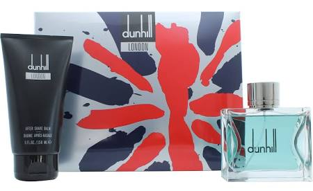 DUNHILL LONDON EDT 100ML + A/S BALM 150ML SET