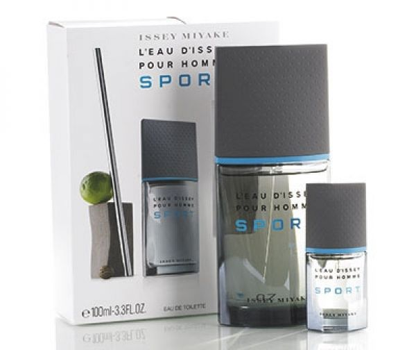 ISSEY MIYAKE L´EAU D´ISSEY HOMME SPORT EDT 100 ML + 10 ML SET REGALO