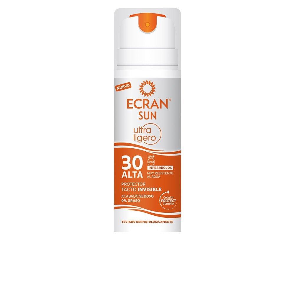 Ecran sun protector ultra ligero tacto invisible spf 30 145 ml for Ecran photo sun