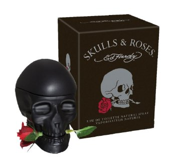 ED HARDY SKULL AND ROSES MEN EDT 75ML VP