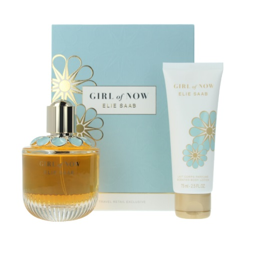 ELIE SAAB GIRL OF NOW EDP 90 ML + BODY LOTION 75 ML SET REGALO