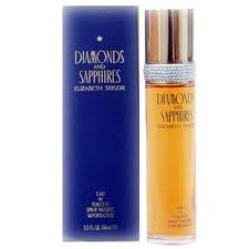 ELIZABETH TAYLOR DIAMONDS AND SAPHIRES EDT 100 ML