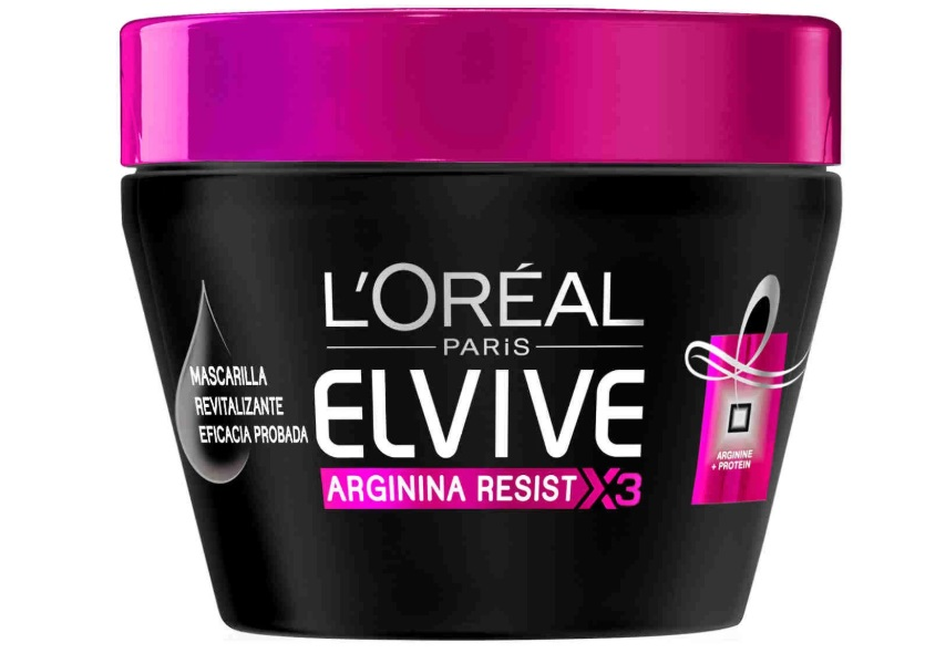 L\'OREAL ELVIVE ARGININA RESIST X3 MASCARILLA REVITALIZANTE 300ML