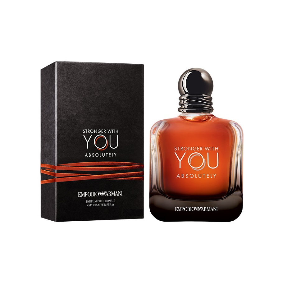EMPORIO ARMANI STRONGER WITH YOU ABSOLUTELY PARFUM POUR HOMME 50 ML