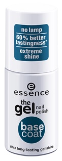 ESSENCE GEL NAIL POLISH ESMALTE DE UÑAS BASE COAT