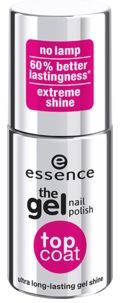 ESSENCE GEL NAIL POLISH ESMALTE DE UÑAS TOP COAT