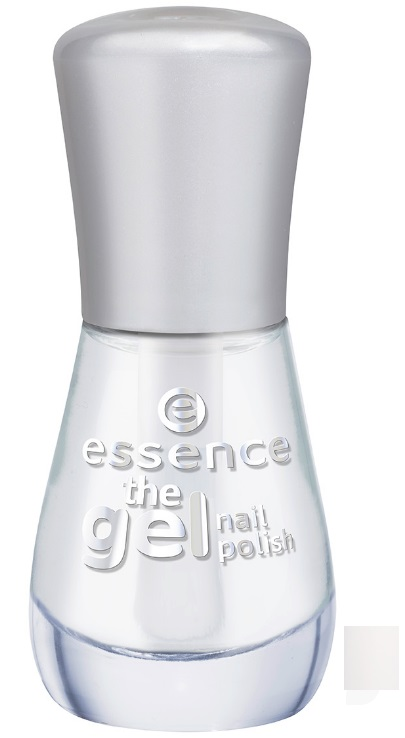 ESSENCE GEL NAIL POLISH ESMALTE DE UÑAS 01 ABSOLUTE PURE