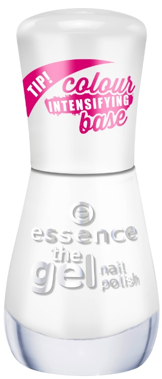 ESSENCE GEL NAIL POLISH ESMALTE DE UÑAS 33 WILD WHITE WAYS