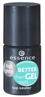 ESSENCE TOP COAT BETTER THAN GEL UÑAS ULTRA BRILLO