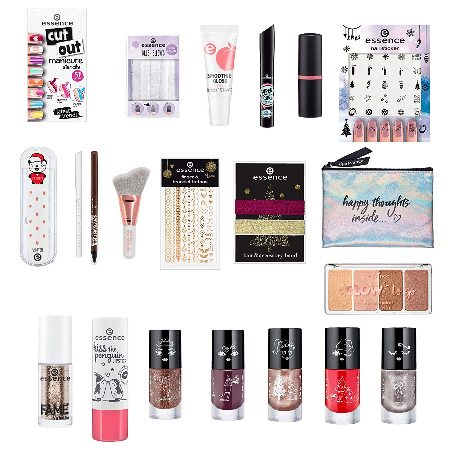 ESSENCE CALENDARIO ADVIENTO 2018 24 PRODUCTOS