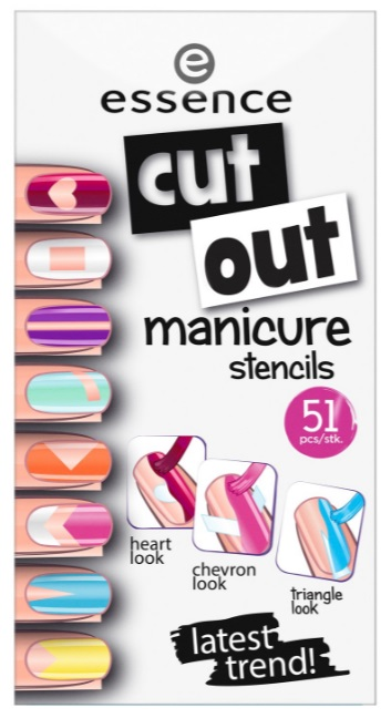 ESSENCE PLANTILLAS PARA MANICURA CUT-OUT 01 DARE TO BE BARE