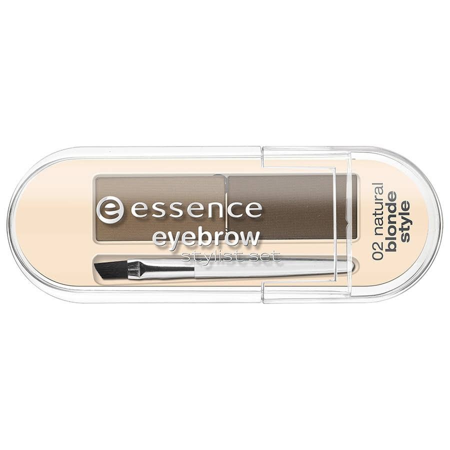 ESSENCE SET ESTILISMO PARA CEJAS COLOR 01 NATURAL BRUNETTE STYLE