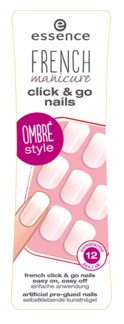 ESSENCE FRENCH UÑAS MANICURA FRANCESA CLICK & GO 03 GIRLS JUST WANNA HAVE FUN !
