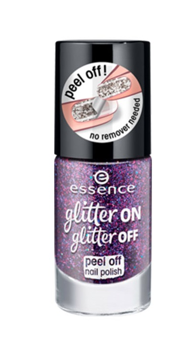ESSENCE ESMALTE PEEL OF GLITTER ON GLITTER OFF 04 SPOTLIGHT ON!