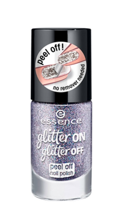 ESSENCE ESMALTE PEEL OF GLITTER ON GLITTER OFF 05 STARLIGHT EXPRESS