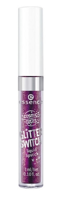 ESSENCE COSMIC CUTIES GLITTER SWITCH LABIAL LIQUIDO 04 SHIMMERING VIOLET