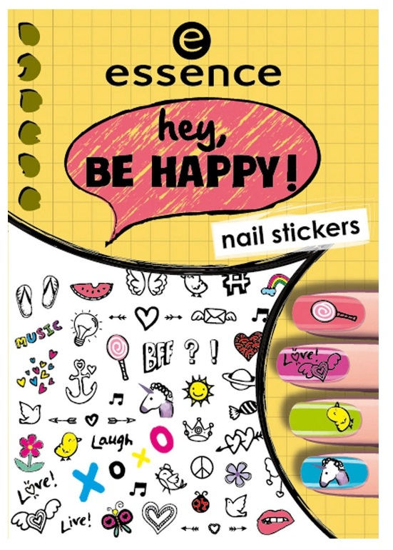 ESSENCE NAIL ART STICKERS PARA UÑAS 05 HEY, BE HAPPY !