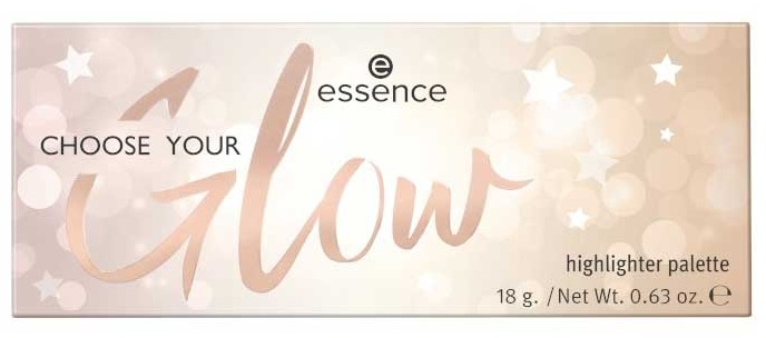 ESSENCE PALETA ILUMINADORES CHOOSE YOUR GLOW 18GR
