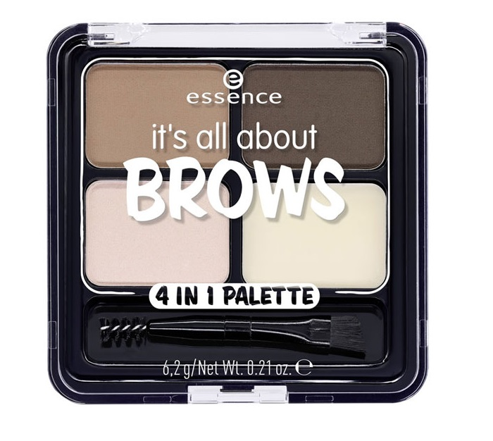 ESSENCE IT\'S ALL ABOUT BROWS PALETA 4 EN 1 PARA CEJAS