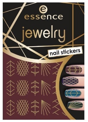 ESSENCE NAIL ART STICKERS PARA UÑAS 09 JEWELRY