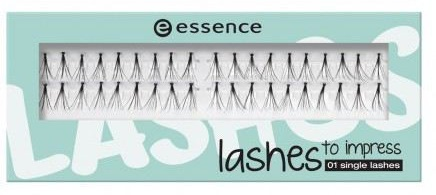 ESSENCE LASHES TO IMPRESS PESTAÑAS ARTIFICIALES 01 SINGLE LASHES