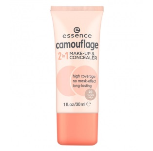ESSENCE CAMOUFLAGE 2 IN 1 MAQUILLAJE-CORRECTOR 20 NUDE BEIGE