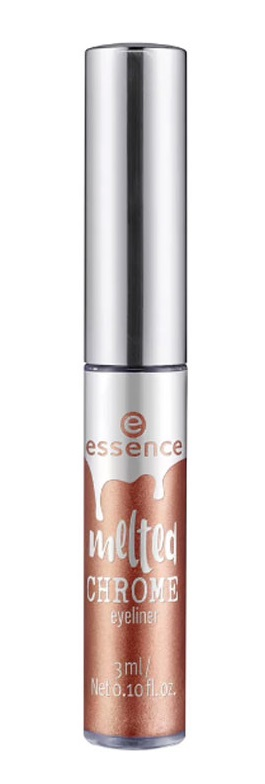 ESSENCE MELTED CHROME EYELINER 01 COPER OF LOVE