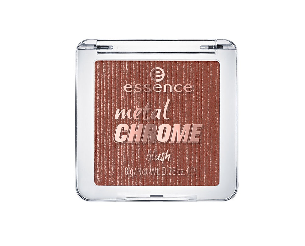ESSENCE METAL CHROME COLORETE 30 THE BEAUTY AND THE BRONZE
