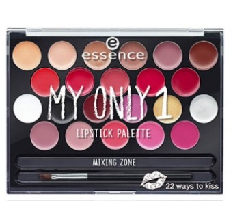 ESSENCE PALETA DE LABIOS MY ONLY 1