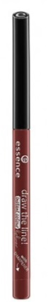 ESSENCE PERFILADOR DE LABIOS DRAW THE LINE!20 RICH MAHOGANY