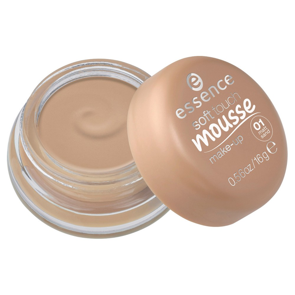 ESSENCE SOFT TOUCH MAQUILLAJE EN MOUSSE 01 MATT SAND