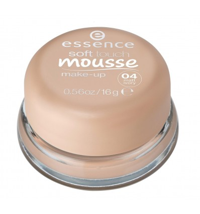 ESSENCE SOFT TOUCH MAQUILLAJE EN MOUSSE 04 MATT IVORY