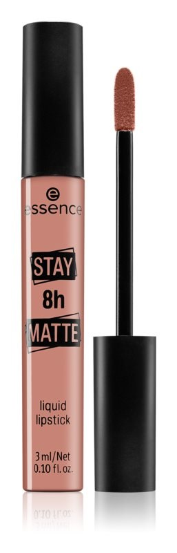 ESSENCE STAY 8H MATTE BARRA DE LABIOS LÍQUIDA 01 HELLO SUNRISE 3 ML