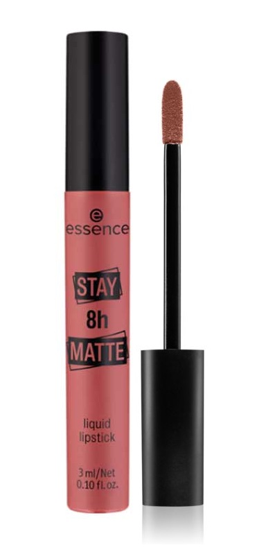 ESSENCE STAY 8H MATTE BARRA DE LABIOS LÍQUIDA 07 LET´S CHILL 3 ML